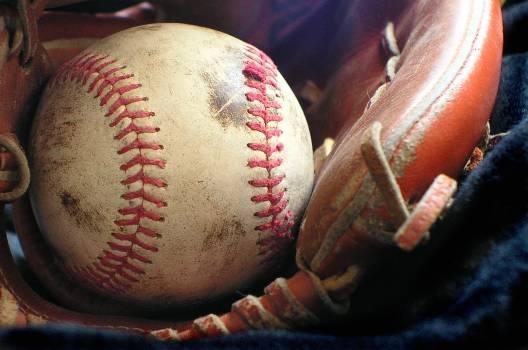 Ball baseball game glove Free Photo