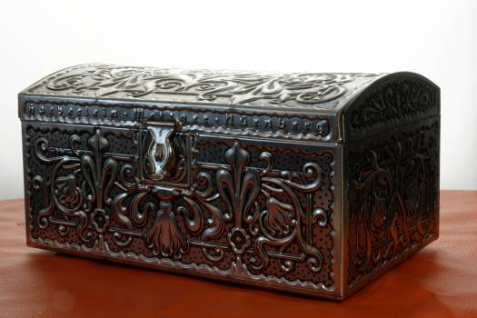 Antique antiques box metal Free Photo