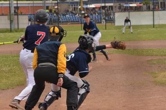 Action baseball baseball field batsman #85969