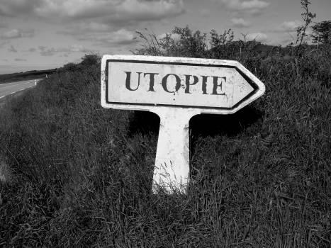 Dream sign the earth utopia Free Photo