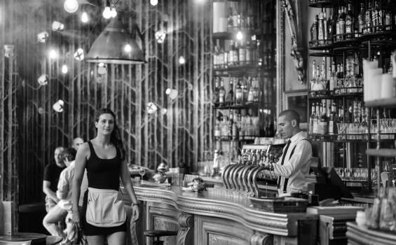 Alcohol bar classic decor #86632