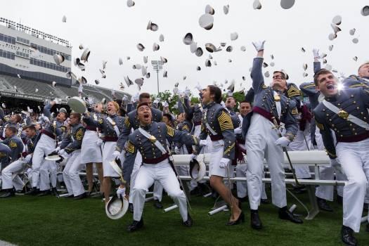 Academy army celebration enthusiasm Free Photo