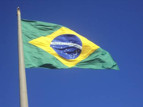 Brazil flag home Free Photo