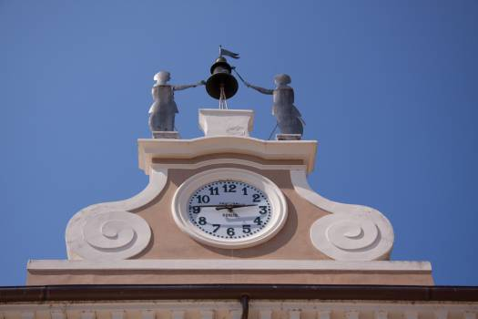 Building clock clock tower Free Photo