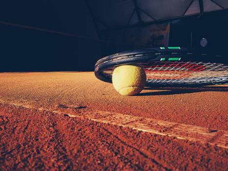 Ball clay court fitness Free Photo