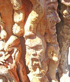 Carved wood Free Photo
