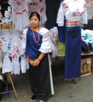 Hand sewn artistry textile market Free Photo