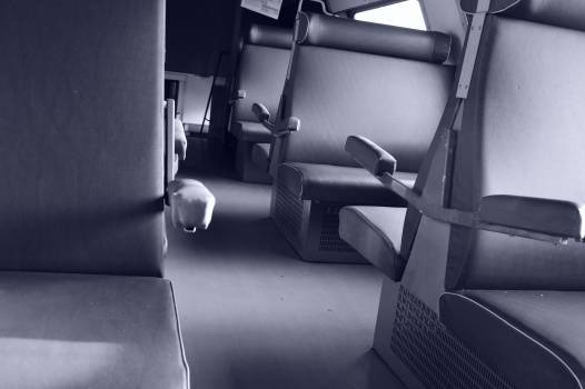 Carriage empty interior leather Free Photo
