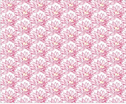 Floral lila pattern pink Free Photo