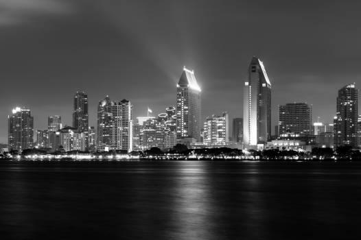Bay building city city lights #88724