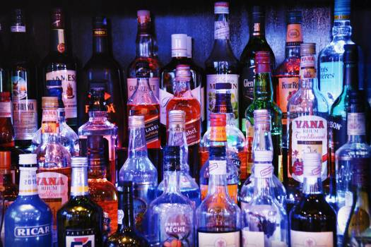 Alcohol bottles #89967