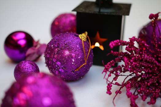 Candle candlestick christmas decoration Free Photo