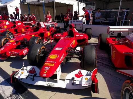 Ferrari finali mondiali daytona f1 pits #90142