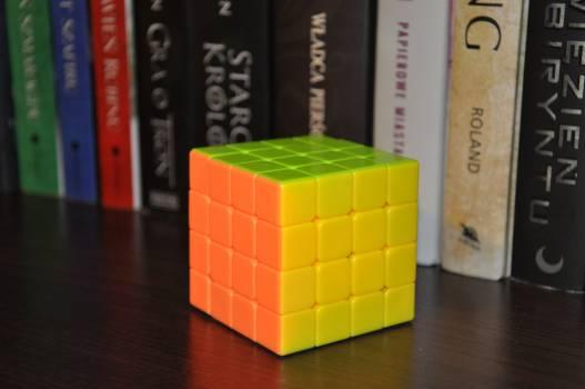 Book cube 4x4x4 Free Photo