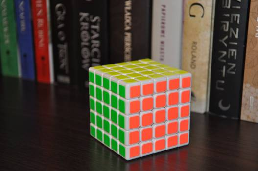 Book cube 5x5x5 Free Photo