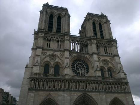 Front Cathedral Facade Free Photo
