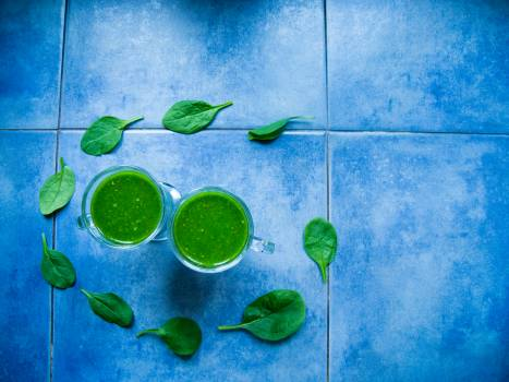 Blue delicious drink eating healthy Free Photo