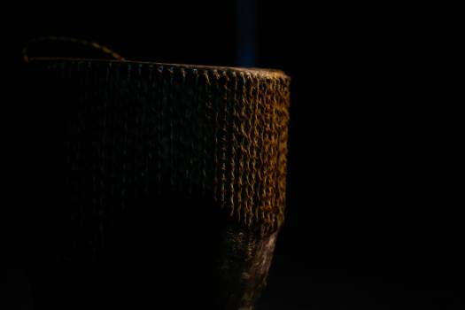 African culture dark room drum #91226