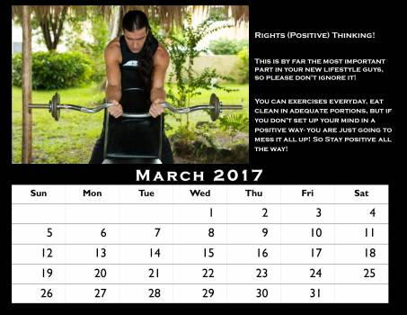 Calendar 2017 elements fitntess center exercise exercises Free Photo