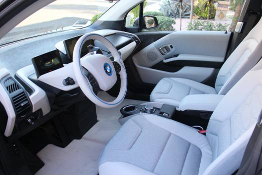 Automobile bmw bmwi3 car Free Photo