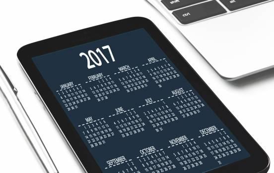 Calendar date device digital #91688