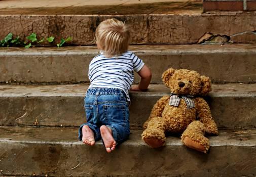 Boy childhood crawling cute #91795