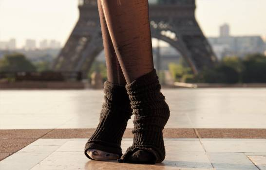 City eiffel tower feet monument Free Photo