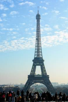 Attraction eiffel tower france landmark #92016