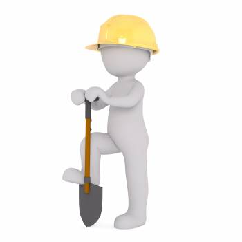 3d 3d model construction workers free image Free Photo