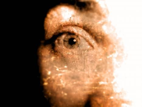 Eye spooky vintage Free Photo