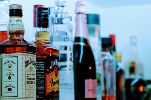 Alcohol bottles #92696