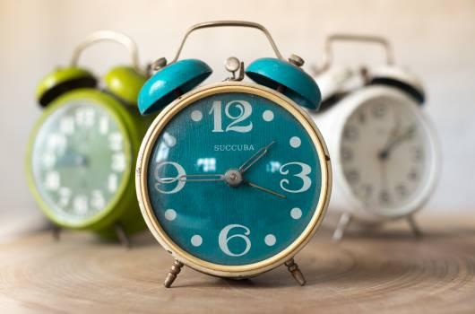 Alarm brocante clock deco Free Photo