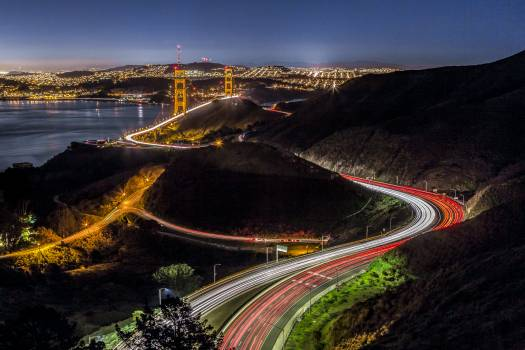 Architecture bridge city highway #93453
