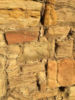 Sandstone texture walls Free Photo