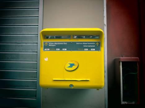 Nice postbox Free Photo