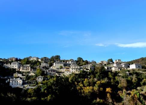 Greece mountain village vitsa Free Photo