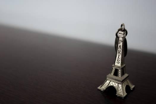 Black and white eiffel tower paris Free Photo