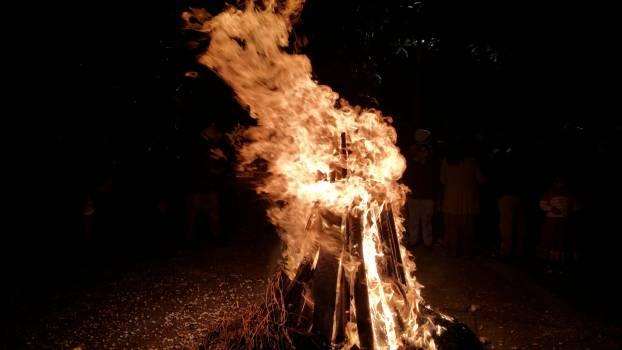 Bonfire burn dark fire #95836