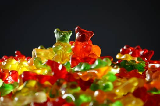 Bears bright candies color #96424
