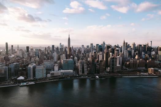 Manhattan City Skyline #97230