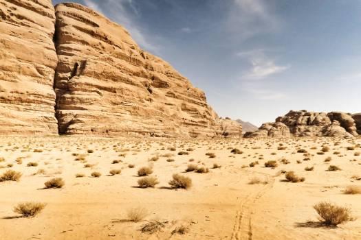 Sandstone Dune Landscape Free Photo