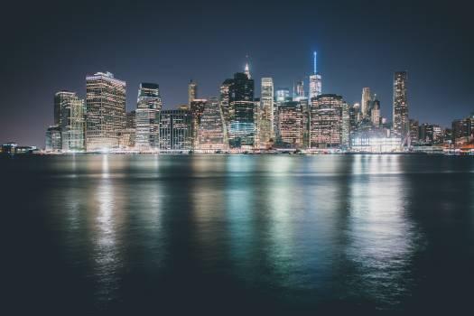 Architecture buildings city city lights #98228