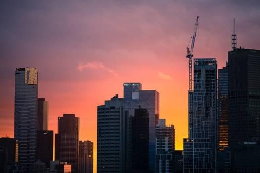 Manhattan City Skyline #98259
