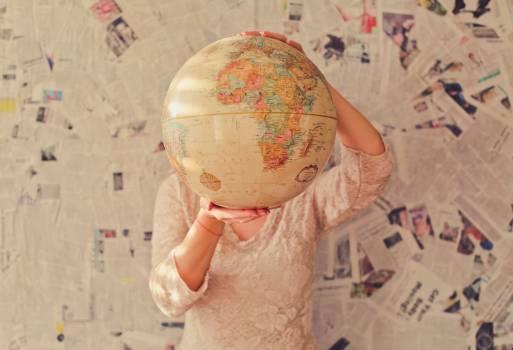 Map Design Global Free Photo