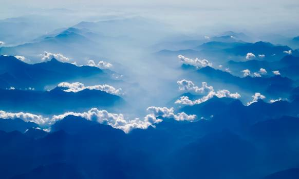 Beautiful clouds country countryside #98690