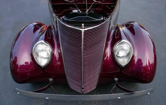 Antique auto automobile bumper Free Photo