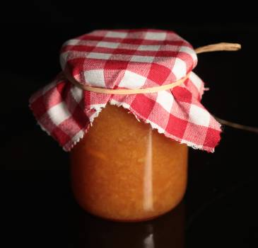 Apricot craft homemade jam #99547