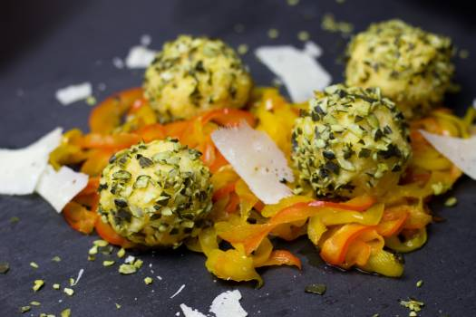 Balls cheese colorful delicious #99611