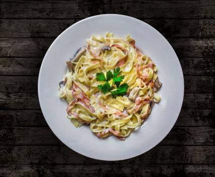 Carbonara food good food ham #99667