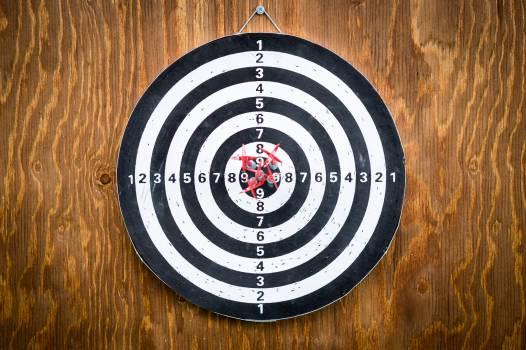 Arrow competition dart board darts #99738